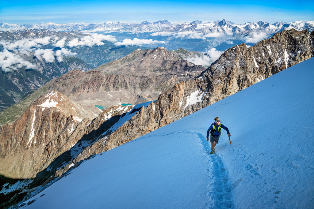 climbing the Lagginhorn