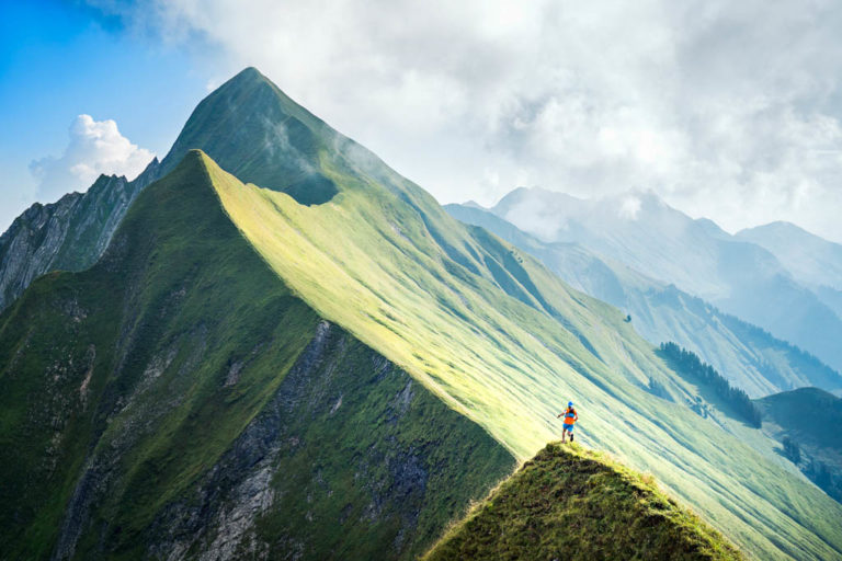 Hardergrat trail running