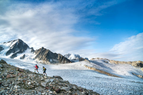 Running the Chamonix to Zermatt Glacier Haute Route