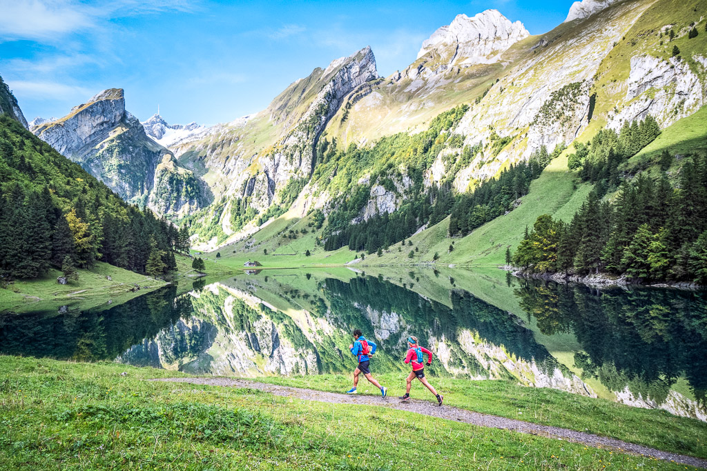 trail running alpstein