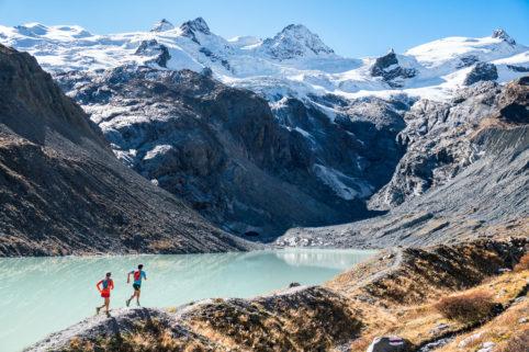 trail running rosegtal pontresina graubünden