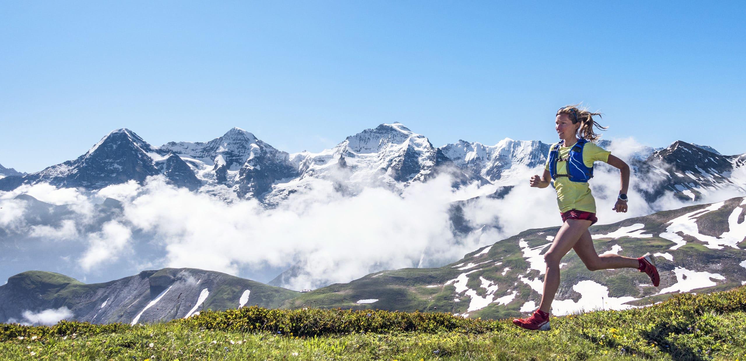 Trail running Jungfrau Region