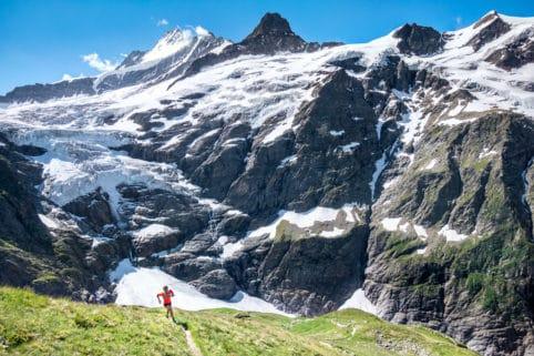 The Gleckstein Hut, Chrinnenhorn trail from Grindelwald, Switzerland