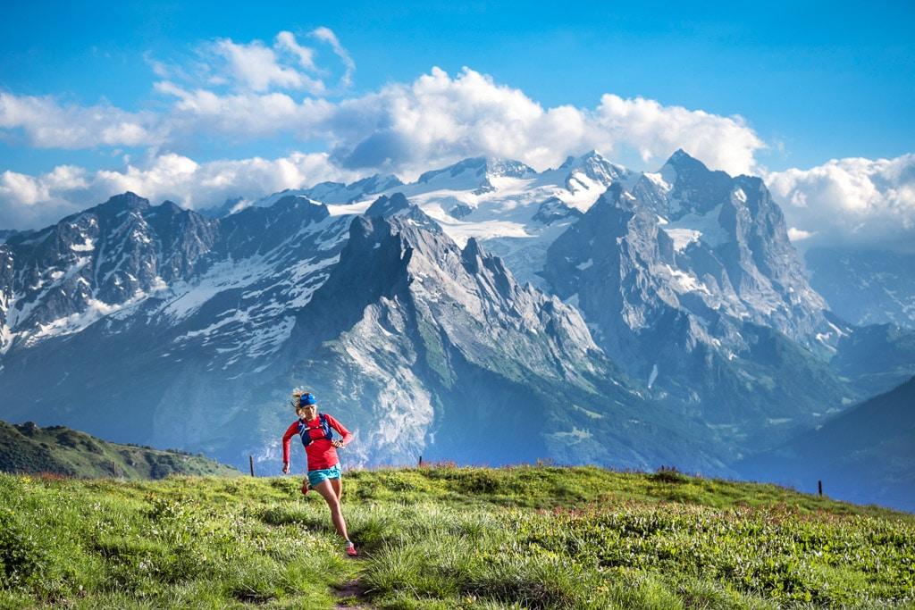 Trail running Melchsee Frutt