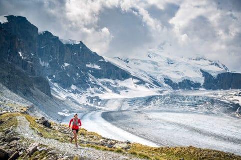 Trail running Fionnay Col des Otanes, Val de Bagnes, Switzerland