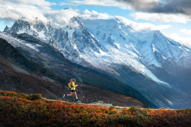 Trail running Le Tour trails, Chamonix, France